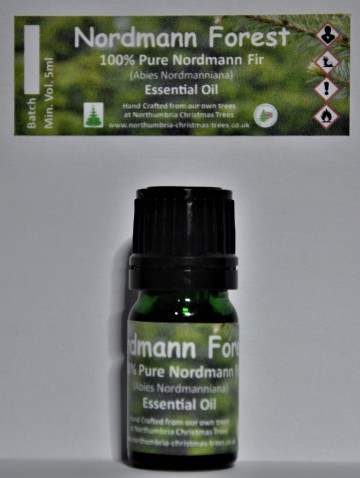 Nordmann Forest - 100% Pure Nordmann Fir Essential Oil - Including Delivery